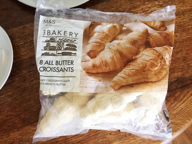 M&S All Butter Croissants