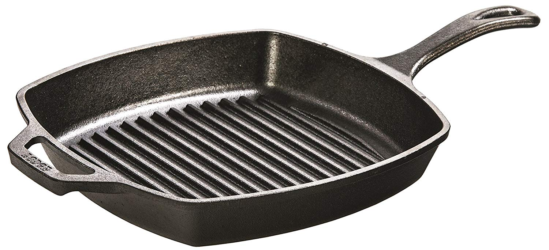 Lodge 26.67 cm Cast Iron Grill Pan