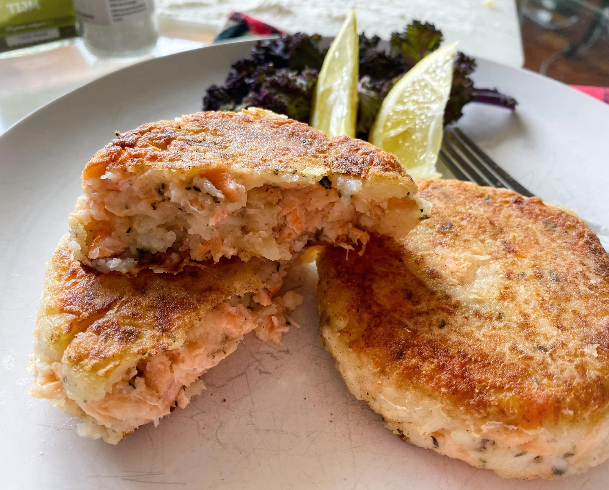 Potato and Salmon Cakes