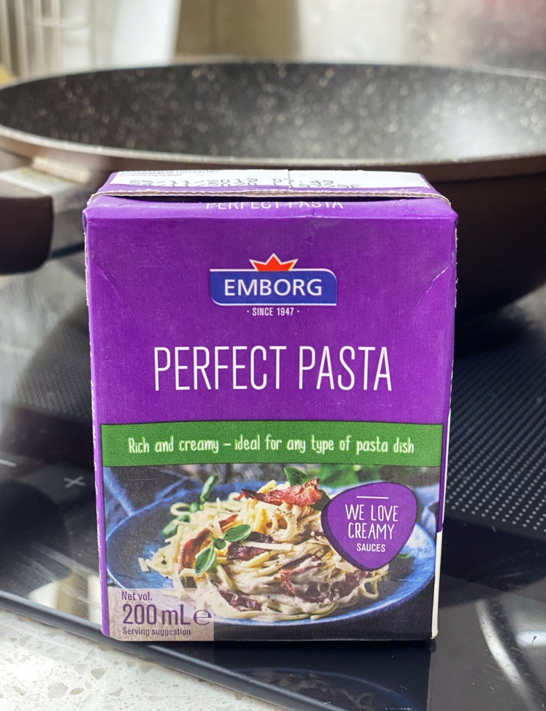 Differences between Emborg Cooking Cream and Pasta Cream