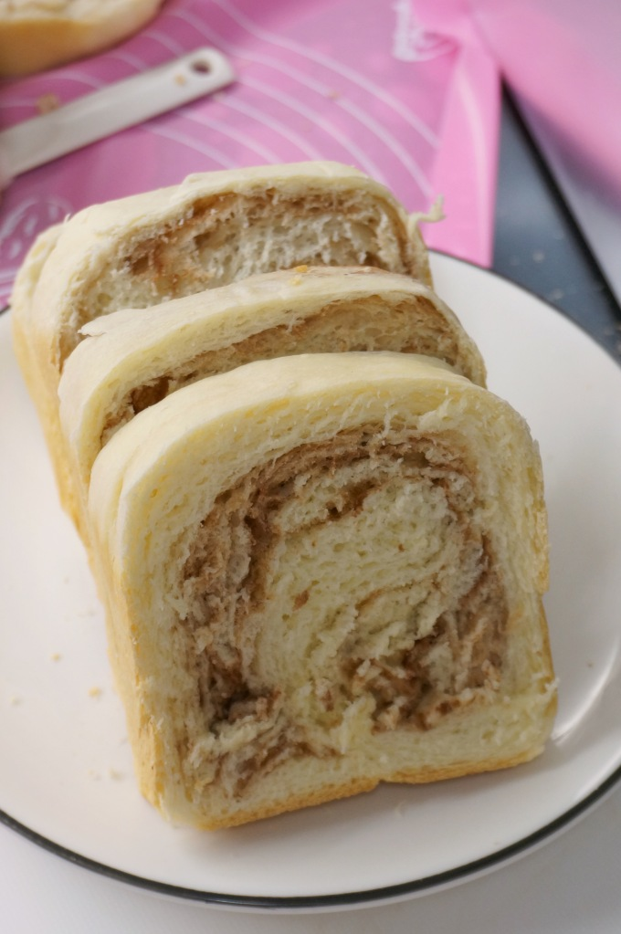 Stovetop Bread: Chocolate Marble Loaf
