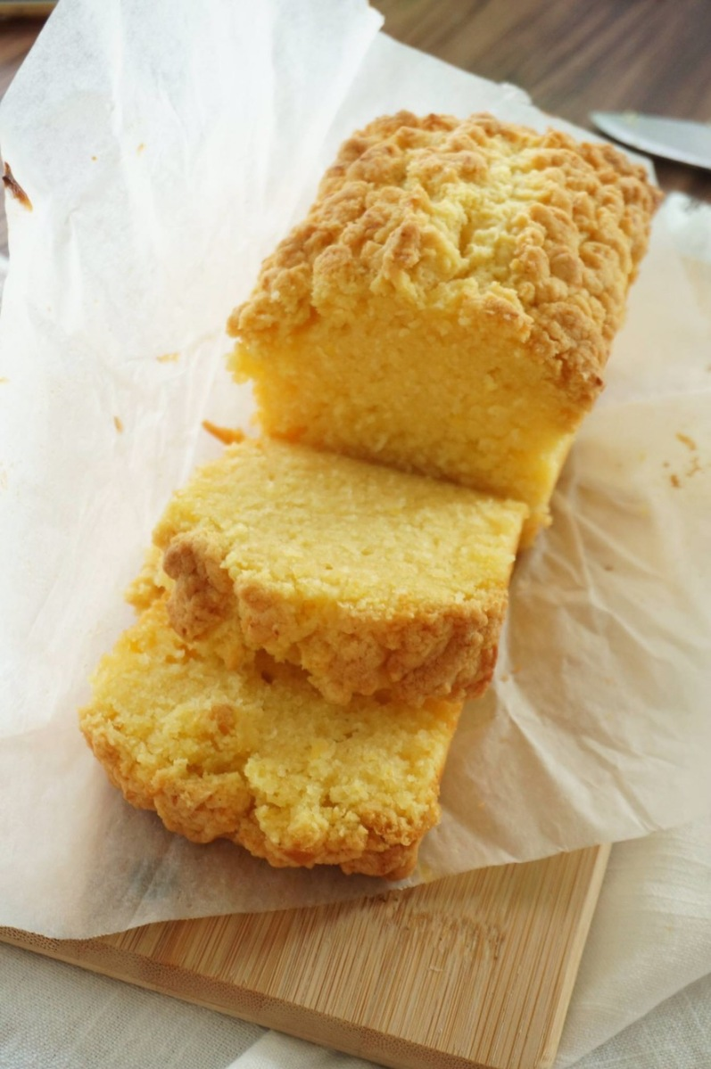 Lemon Crumble Cake