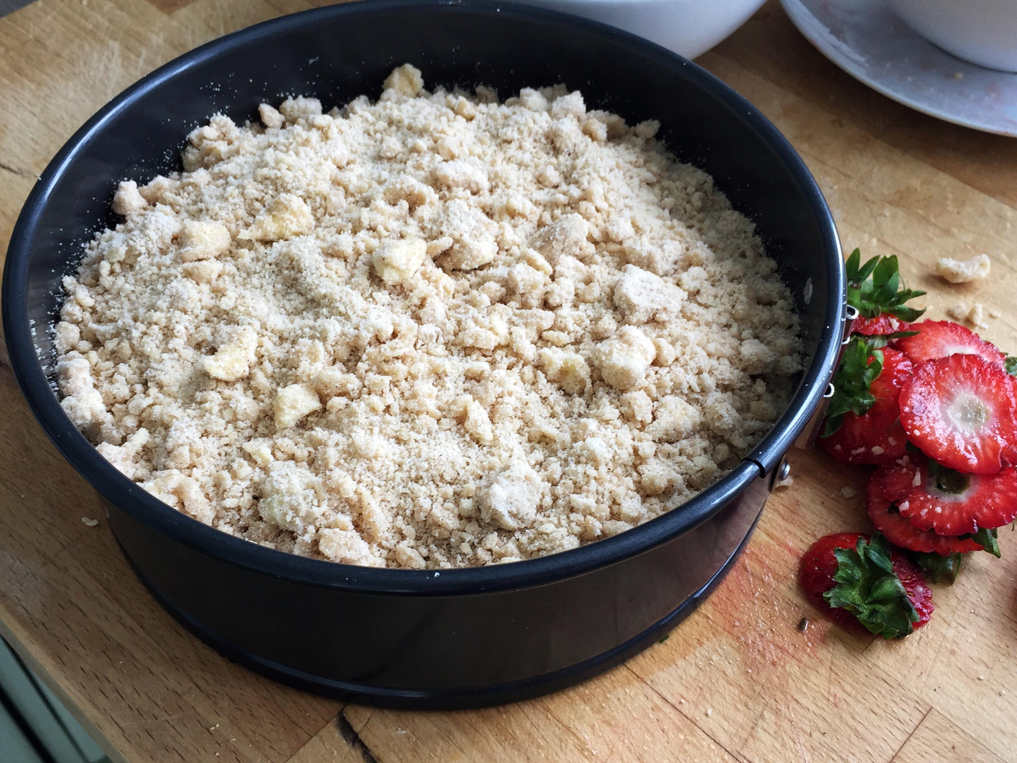 草莓金寶蛋糕 4