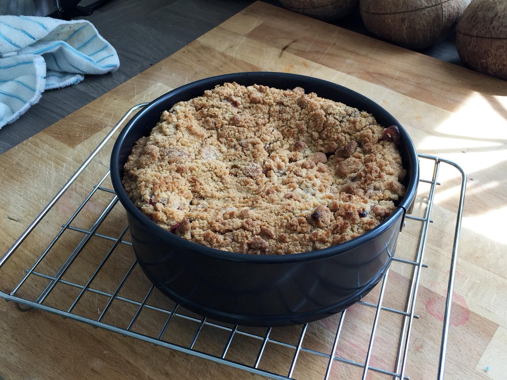 草莓金寶蛋糕 5